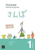 Promenade. Méthode de japonais avec cahier d'exercices et corrigés - Volume 1 - Niveau A1