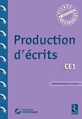 Production d'écrits CE1 de Françoise Bellanger