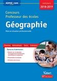 Concours Professeur des écoles - Géographie - Mise en situation professionnell
