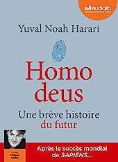 Homo deus - Une brève histoire du futur - Livre audio 2 CD MP3 d'Yuval Noah Harari