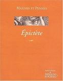 Maximes et pensées - Épictète de Épictète (15 mai 2003) Broché - 15/05/2003