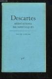 Méditations métaphysiques - Presses Universitaires de France (PUF) - 01/10/1979