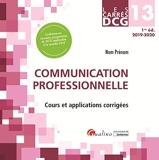 DCG 13 - communication professionnelle - Cours Et Applications Corrigees