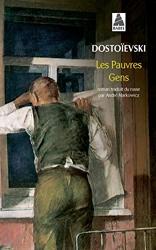 Les pauvres gens de Fédor Dostoïevski