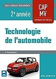 Technologie de l'automobile CAP Maintenance des Véhicules 2e année (2018) Po