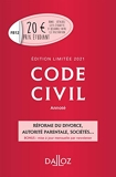 Code civil 2021 annoté. Édition limitée - 120e Ed. - Dalloz - 01/07/2020