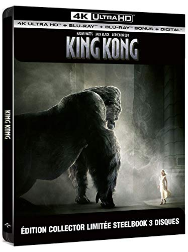 King Kong [4K Ultra HD Blu-Ray Bonus-Édition boîtier SteelBook]