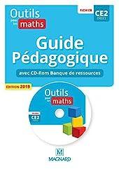 Outils pour les Maths CE2 (2019) - Banque de ressources du fichier sur CD-Rom avec guide pédagogique papier (2019) de Marie-Laure Frey-Tournier