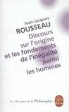 Discours sur l'origine et les fondements de l'inégalité parmi les hommes, précédé de Discours sur les sciences et les arts by Jean-Jacques Rousseau (1996-03-06) - Le Livre de Poche - 06/03/1996