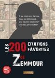 Les 200 citations favorites de Zemmour