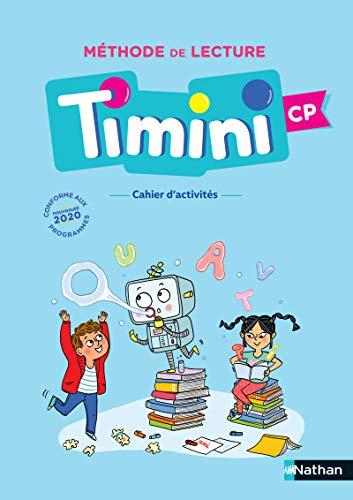 Timini cp - Cahier d'activités de l'élève - Identification des mots 2020 - Méthode de lecture