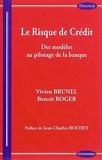 Risque de Crédit - Des Modèles au Pilotage de la Banque (le) de Brunel Vivien (26 août 2014) Broché - 26/08/2014