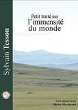 Petit Traite Sur l'Immensite du Monde - Livre Qui Parle - 26/03/2018