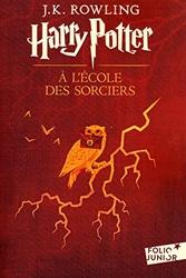 Harry Potter à l'école des sorciers - Tome 1 de J.K. Rowling
