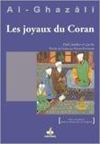 Joyaux du Coran (Jawâhir al-Qur'ân) de Abu Hamid ALGHAZALI ( 1 août 2013 )