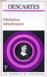 Méditations metaphysiques - Nathan - 01/03/1990