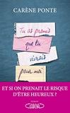 Tu as promis que tu vivrais pour moi - Michel Lafon - 01/06/2017