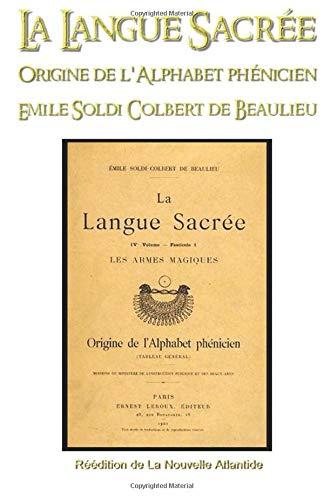 La Langue sacrée, origine de l'alphabet phénicien