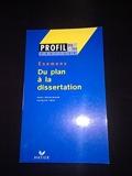 Du Plan A La Dissertation Profil Pratique