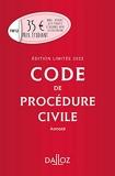 Code de procédure civile 2022 annoté. Édition limitée - 113e Ed.