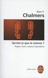 Qu Est-Ce Que La Science (Ldp Bib.Essais) (English and French Edition) by A F Chalmers(2005-08-01) - Livre de Poche - 01/01/2005