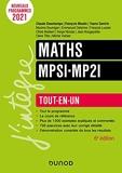 Maths MPSI-MP2I - 6e éd.- Tout-en-un