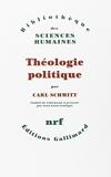 Théologie politique - (1922, 1969)