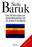 Dictionnaire des mathématiques élémentaires