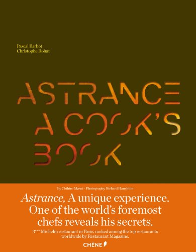Astrance, a cook's book