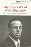 Mémoires d'exil d'un espagnol