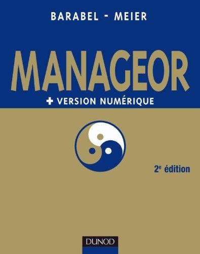 Manageor - 2e édition + version numérique PDF
