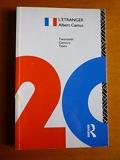 L'Etranger (Twentieth-Century French Texts) by Albert Camus(1998-11-17) - Routledge - 17/11/1998