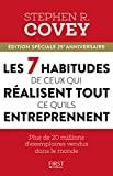 Les 7 habitudes de ceux qui réussissent tout ce qu'ils entreprennent - First - 09/03/2017