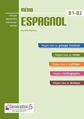 Memo espagnol B1-B2 (lycée) d'Aurélie Bartolo