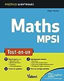 Mathématiques MPSI - Tout-en-un (2019)