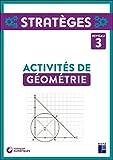 Activités de géométrie - Niveau 3 - CM1-CM2 (+ ressources numériques)