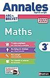 Annales ABC du Brevet 2022 - Maths 3e - Sujets non corrigés + fiches de révisions