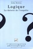 Logique - La théorie de l'enquête