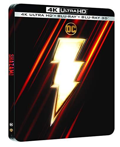 Shazam [4K Ultra HD 3D + Blu-Ray-Édition Limitée SteelBook]
