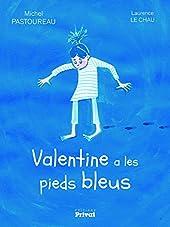 Valentine a les pieds bleus de Michel Pastoureau