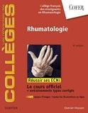 Rhumatologie - Réussir les ECNi (les référentiels des collèges) - Format Kindle - 30,99 €
