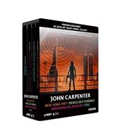 John Carpenter-Coffret - New York 1997 + Prince des ténèbres + Invasion Los Angeles + Fog [4K Ultra HD Blu-Ray Bonus-Édition boîtier SteelBook]