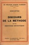 Discours de la méthode. (texte annoté avec une introduction, divers appendices et un lexique par J. Sirven). - Paris, J.de Gigord
