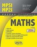 Mathématiques MPSI/MP2I - Programme 2021