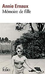 Mémoire de fille d'Annie Ernaux