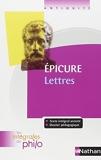 Les intégrales de Philo - EPICURE, Lettres - Nathan - 13/08/2009