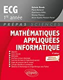 Mathématiques appliquées, informatique prépas ECG 1re année
