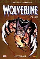 Wolverine - L'intégrale 1974-1989 (T01) de Chris Claremont