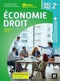 Ressources plus - ÉCONOMIE-DROIT - 2de Bac Pro - Éd. 2021 - Livre élève