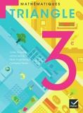 Triangle Mathématiques 3e éd. 2012 - Manuel de l'élève (format compact) - Hatier - 16/05/2012